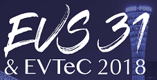 EVS31 </b>(International Electric Vehicle Symposium & Exhibition)<b> & EVTeC 2018</b> (International Electric Vehicle Technology Conference 2018)<b>